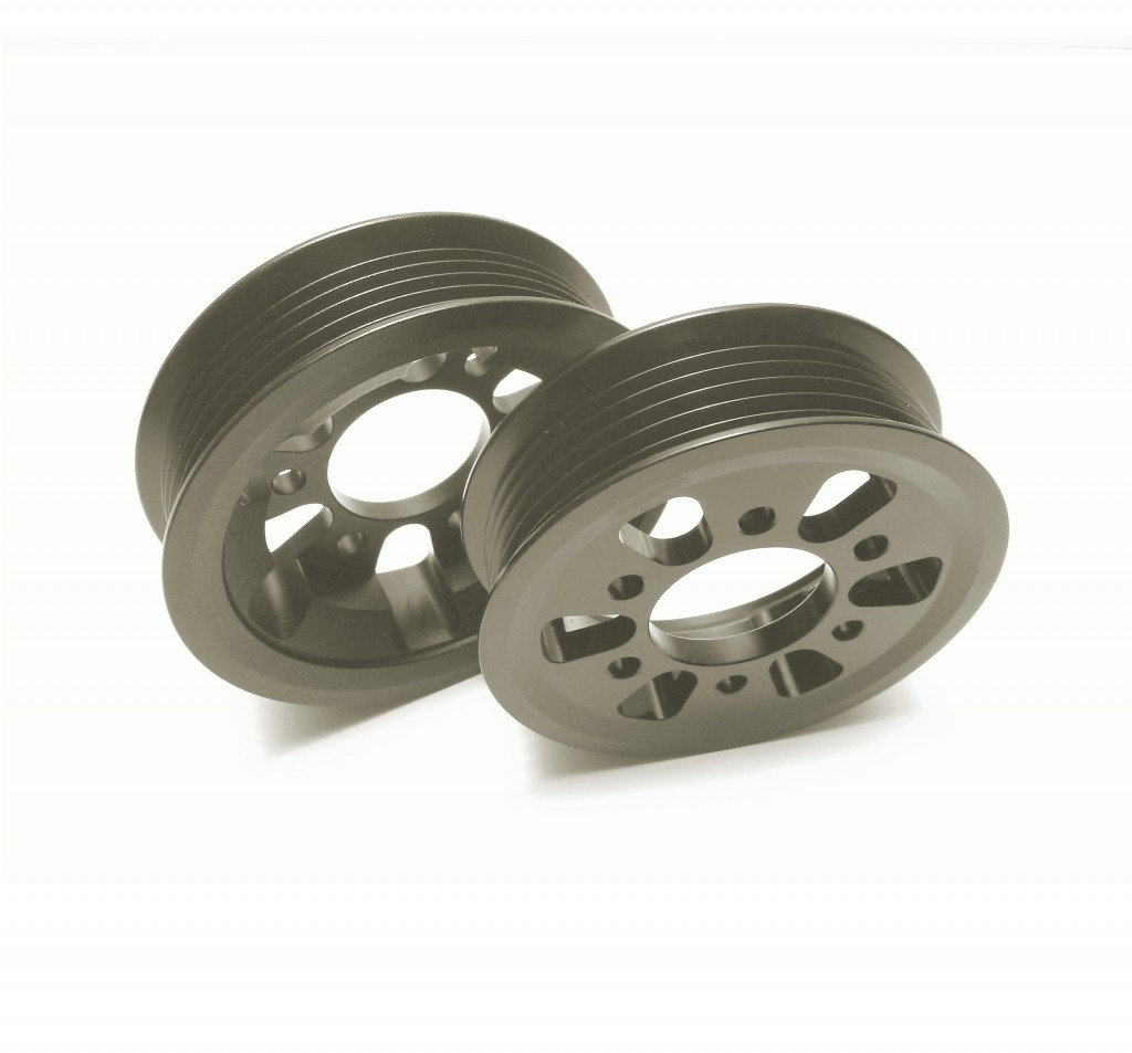 Eaton Supercharger Pulleys: M90 Quick Pulley Kit (3.5psi & 3.0psi Pulleys)