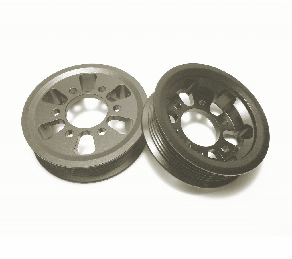 Eaton Supercharger Pulleys: 3.0psi Supercharger Pulley