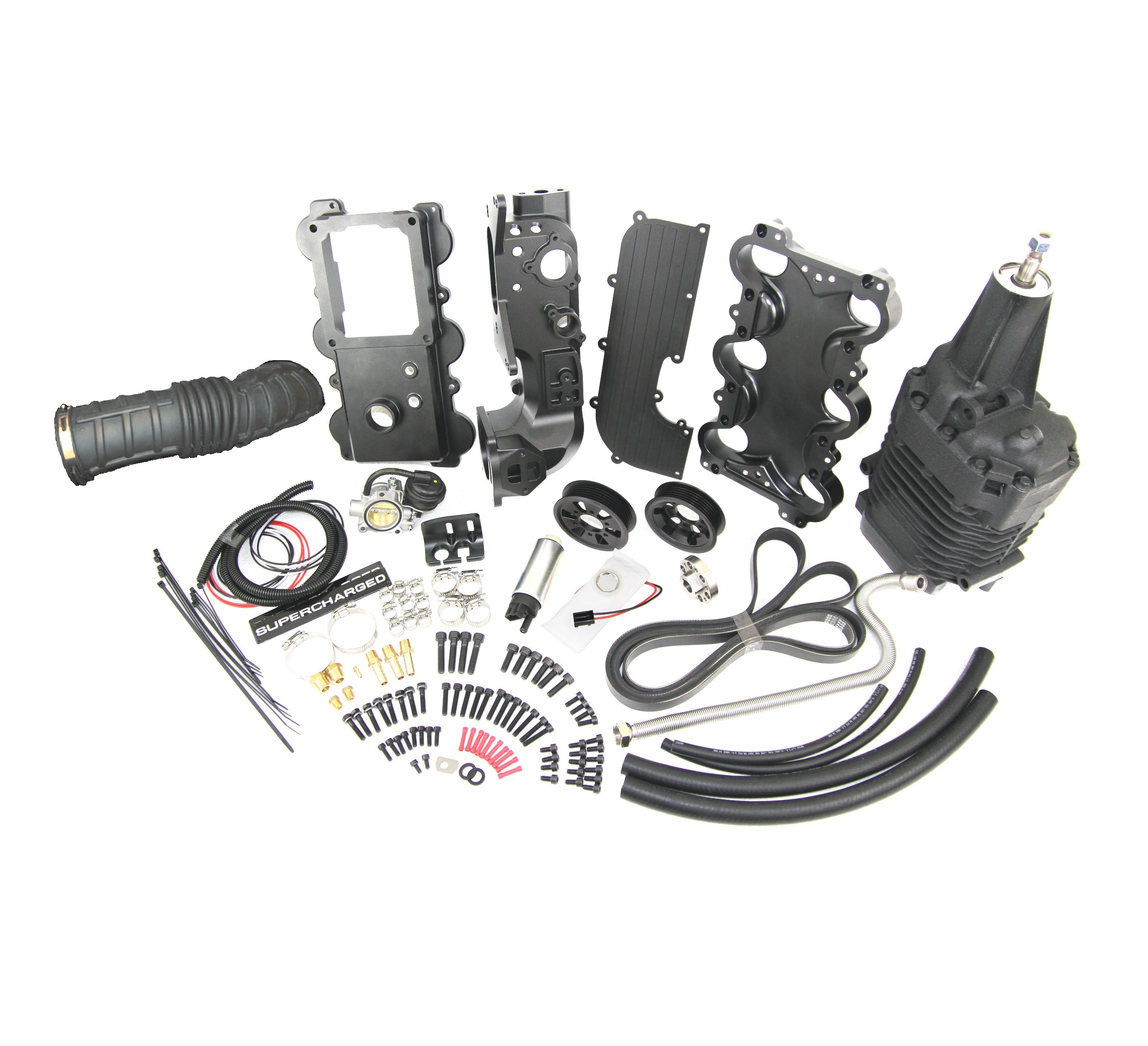 Mustang V6 Turbo Kits: Ford Mustang Electric Supercharger Bolt-on Kit