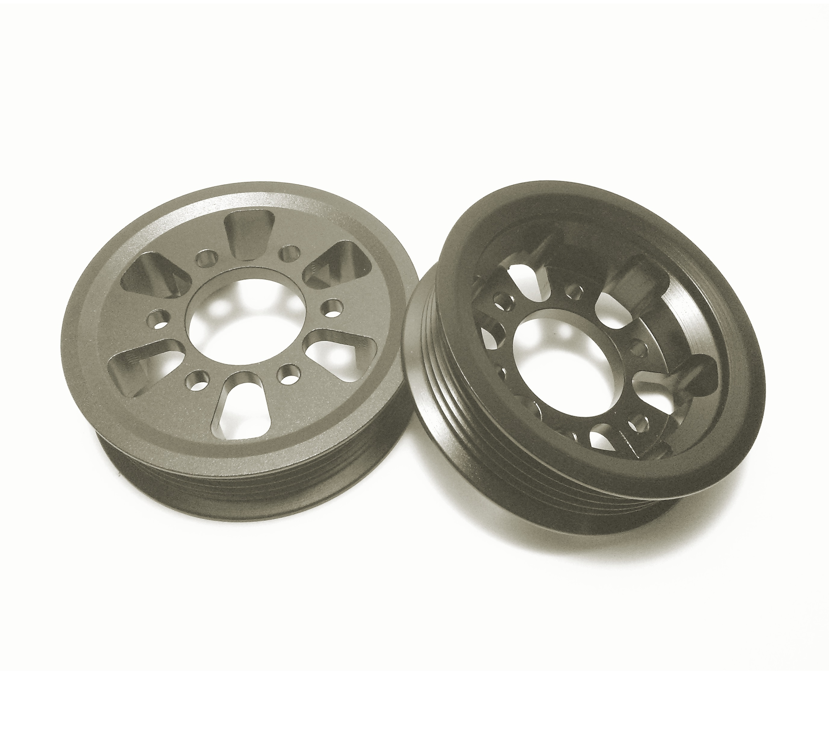 Aluminum Supercharger Pulley: M90 Quick Pulley Kit (3.5psi & 3.0psi Pulleys)