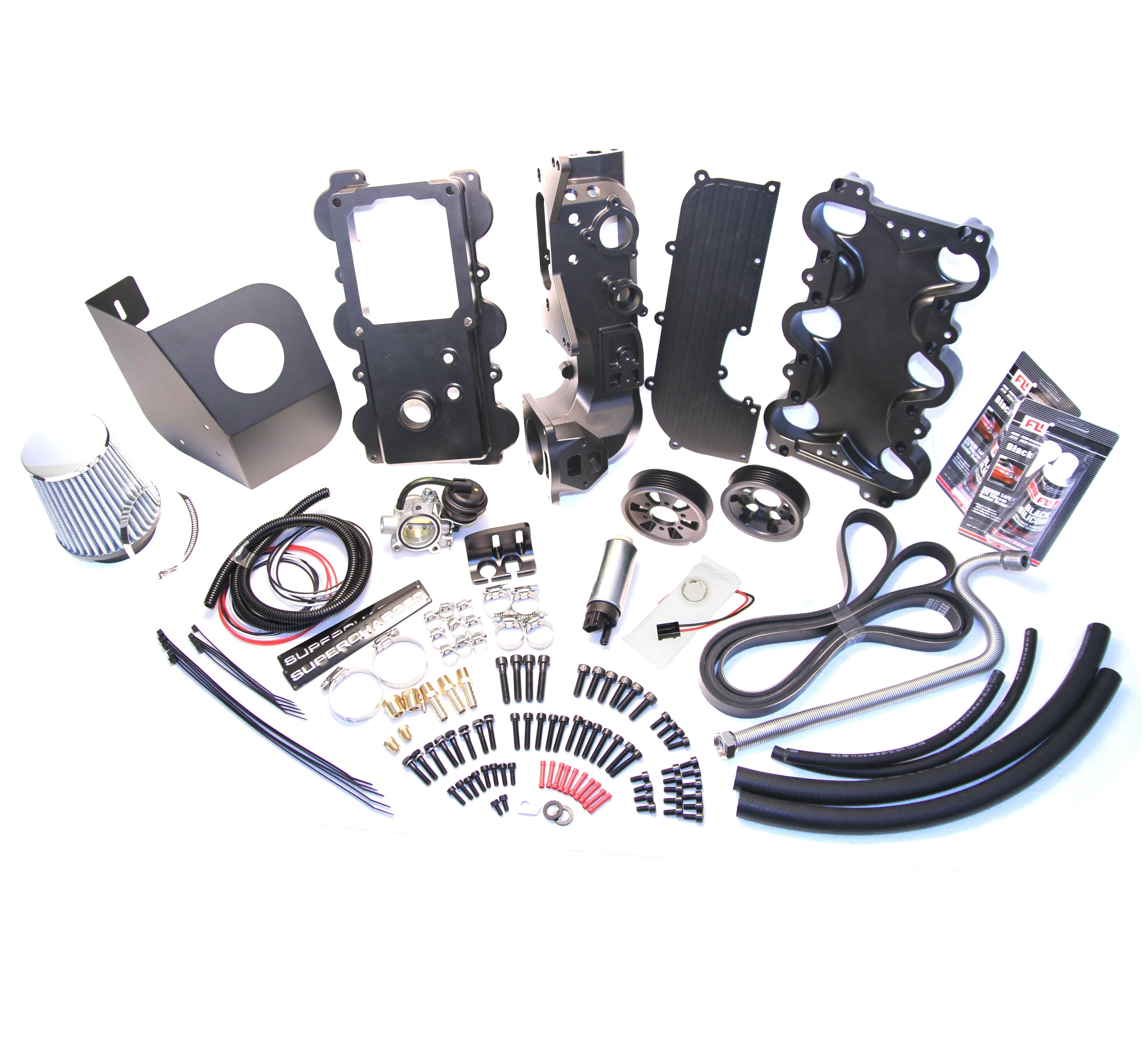 01-03 Ranger/B4000 Supercharger Installation Kit
