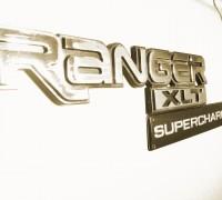 Ranger 4.0L Supercharged Emblem