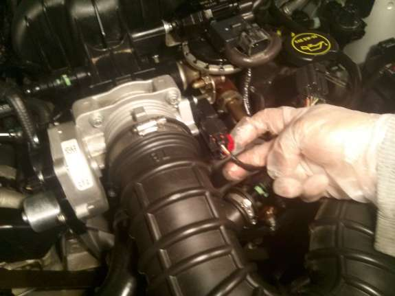 Throttle Body Removal Mustang